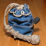 Un vieux jeans et beaucoup, beaucoup de temps